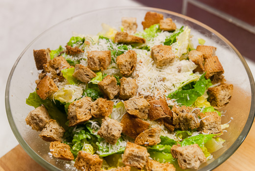 Caesar Salad 520x348